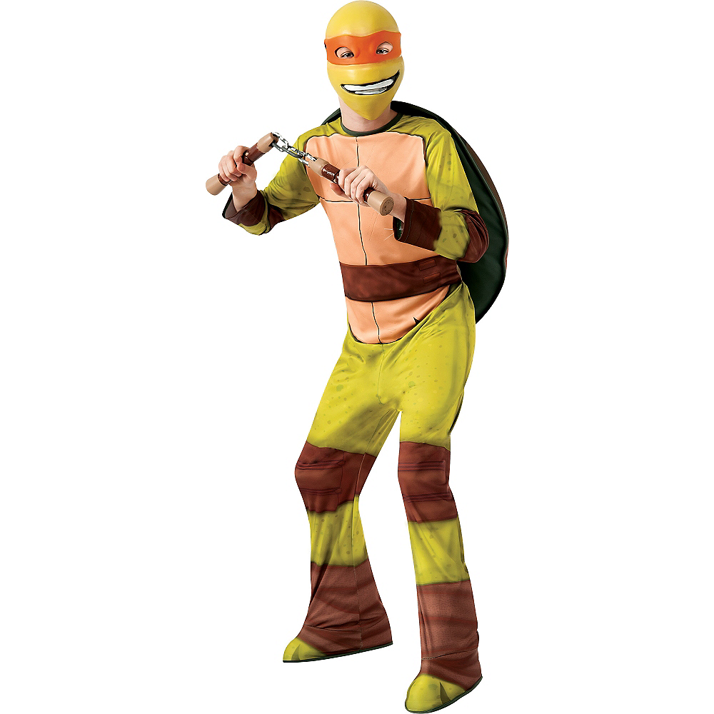 Boys Michelangelo Costume - Teenage Mutant Ninja Turtles Image #1