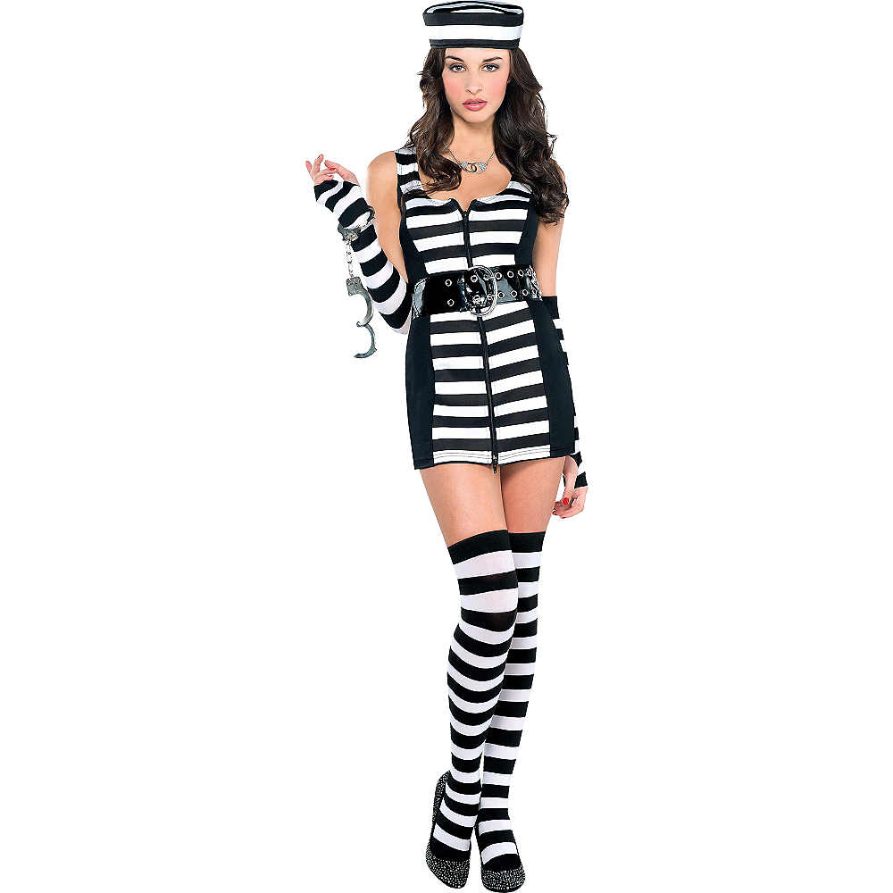 Adult Guilty As Charged Prisoner Costume Image #1