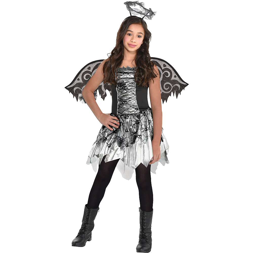 Girls Fallen Angel Costume Image #1