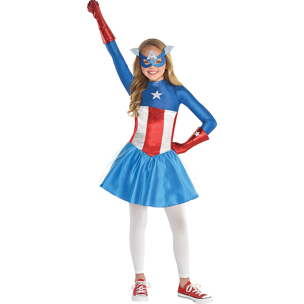 Girls American Dream Costume Image #1