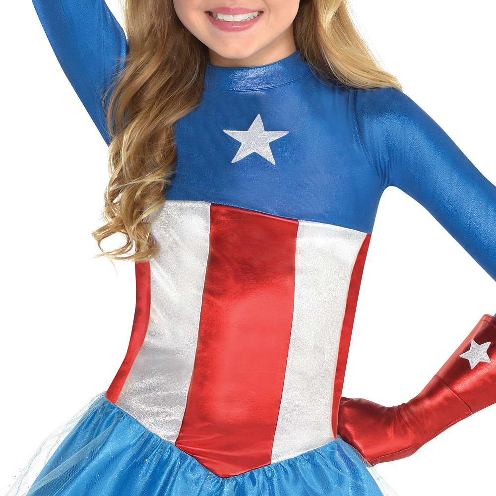 Girls American Dream Costume Image #3