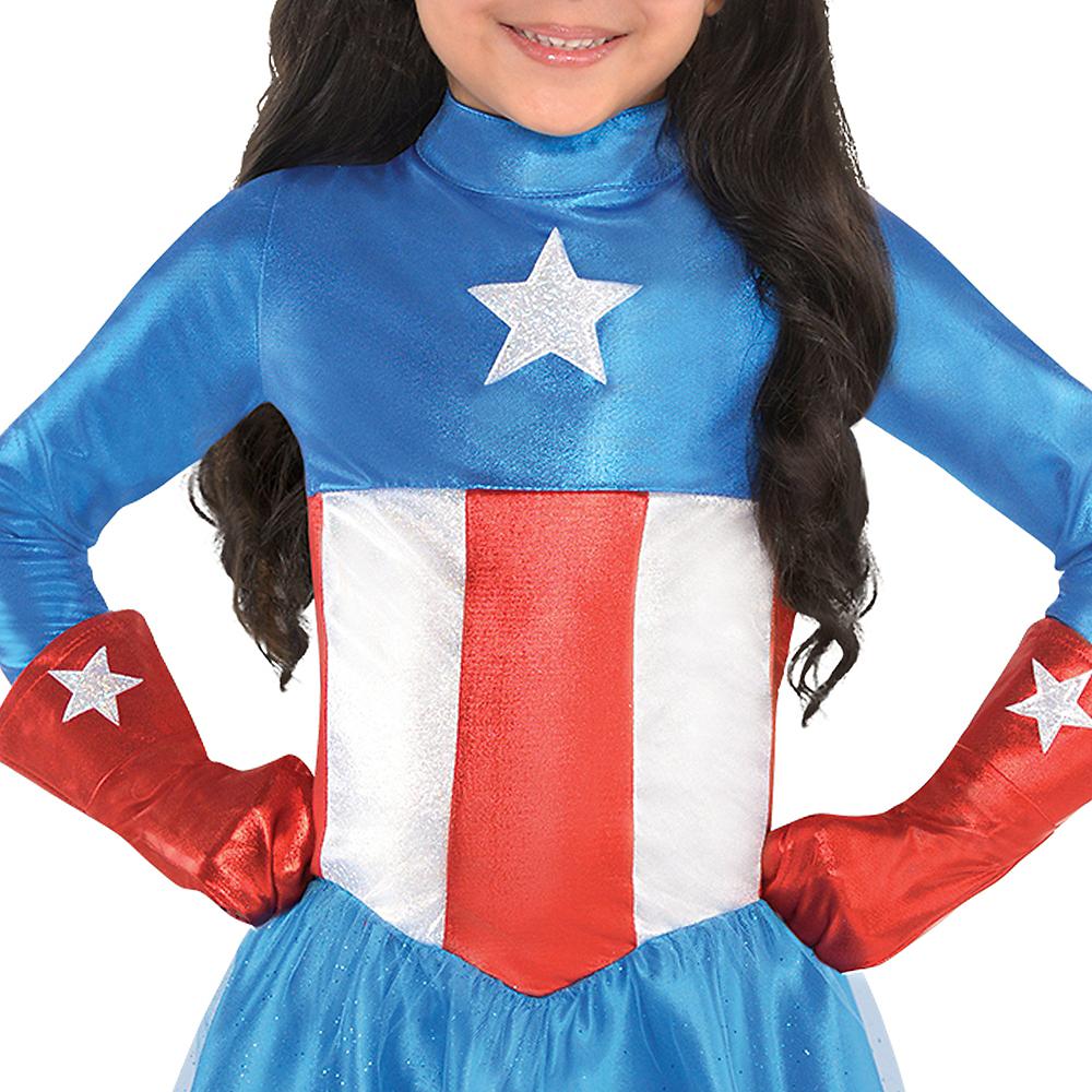 Toddler Girls American Dream Costume Image #3