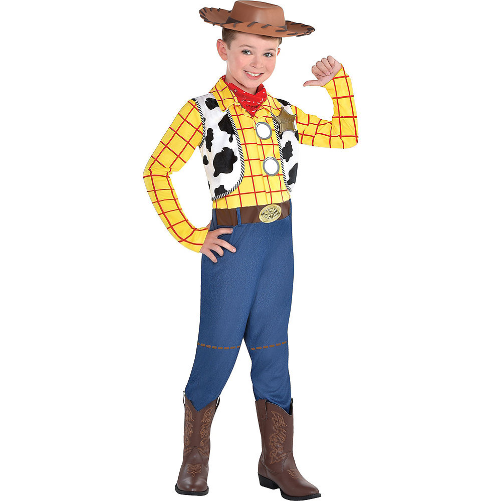 Nav Item for Child Woody Costume - Toy Story Image #1