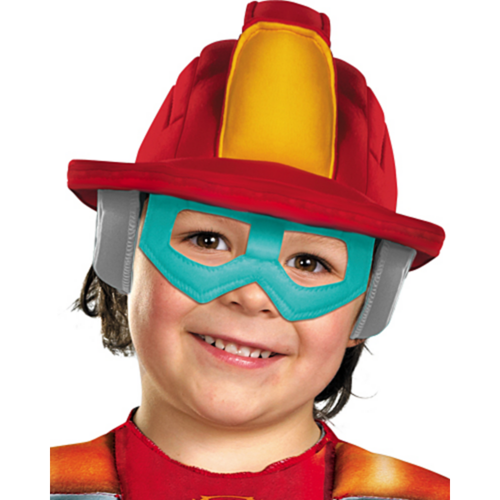 Toddler Boys Heatwave Muscle Costume - Transformers Rescue Bots Image #2