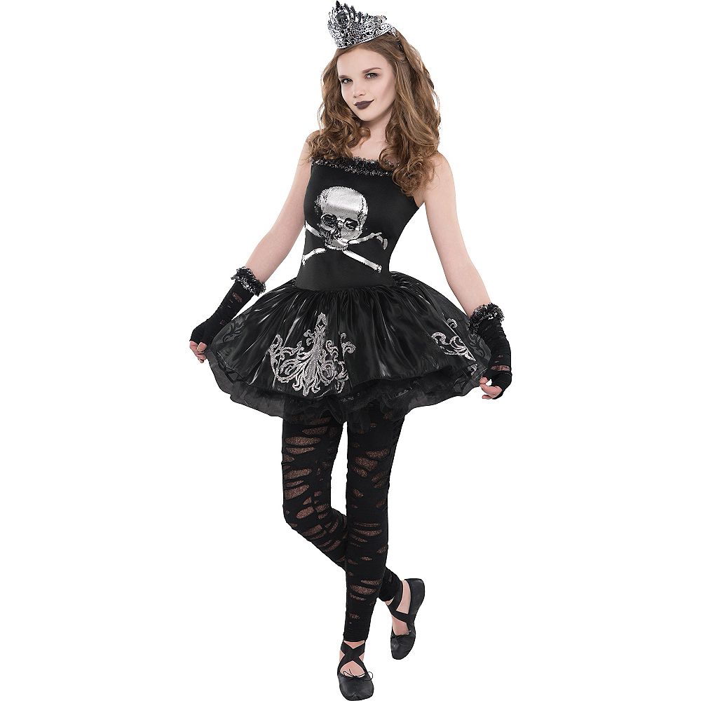 Nav Item for Girls Zomberina Costume Image #1