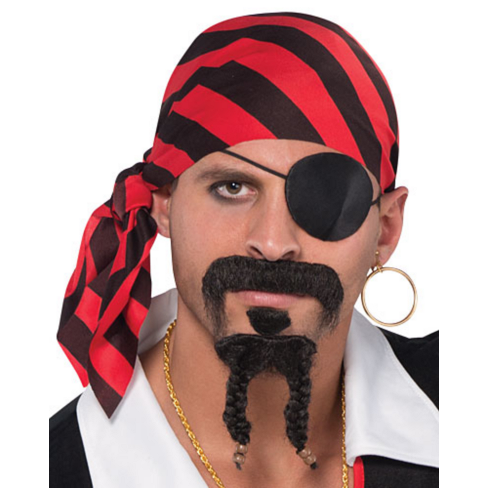 Adult Rebel of the Sea Pirate Costume Plus Size Image #2