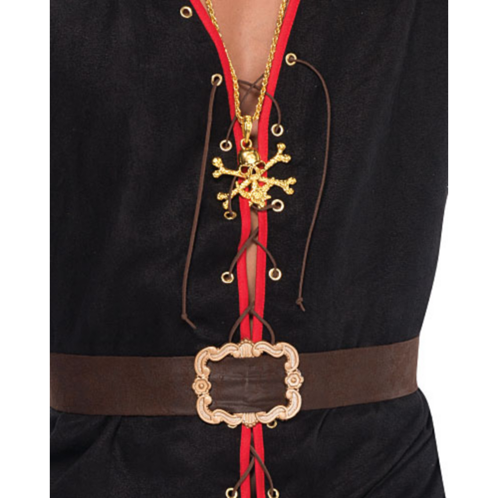Adult Rebel of the Sea Pirate Costume Plus Size Image #3