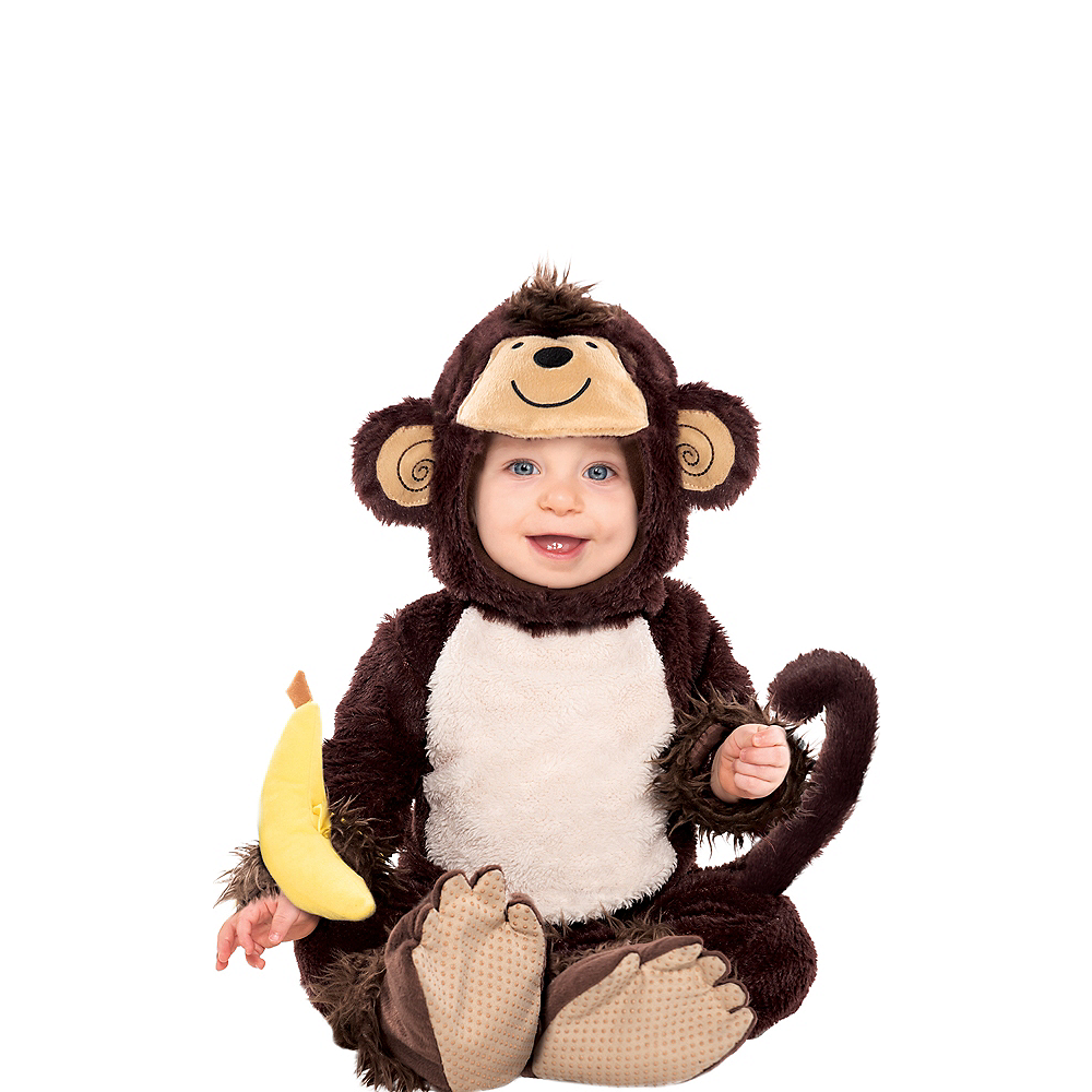 Baby Monkey Costume Image #1
