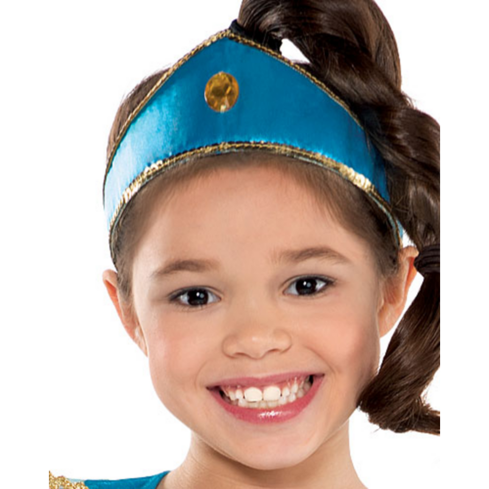 Nav Item for Girls Jasmine Costume Image #2