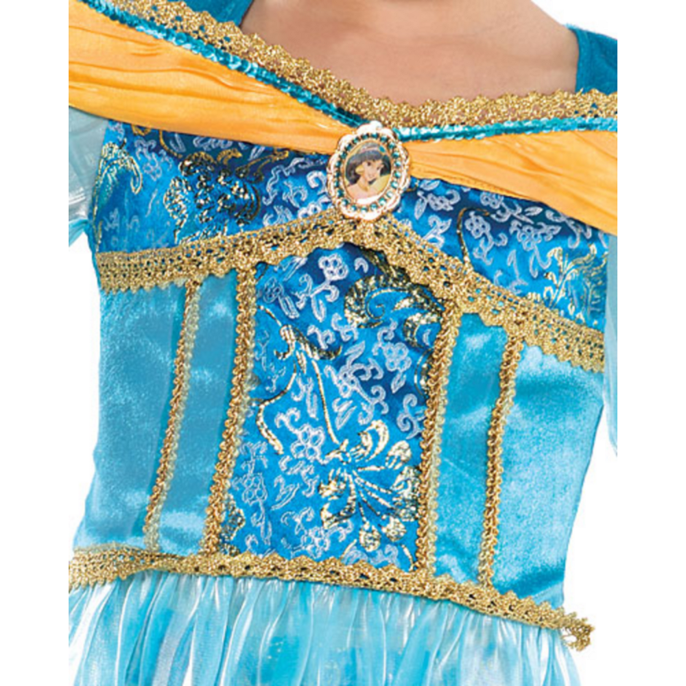 Nav Item for Girls Jasmine Costume Image #3