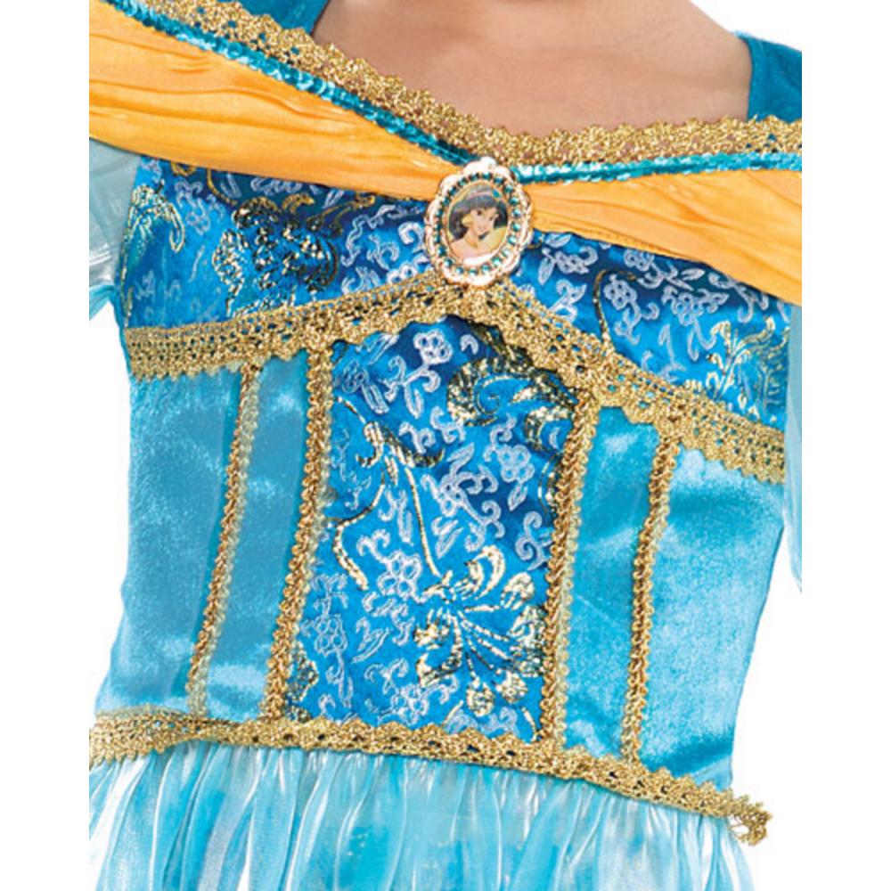 Girls Jasmine Costume Image #3