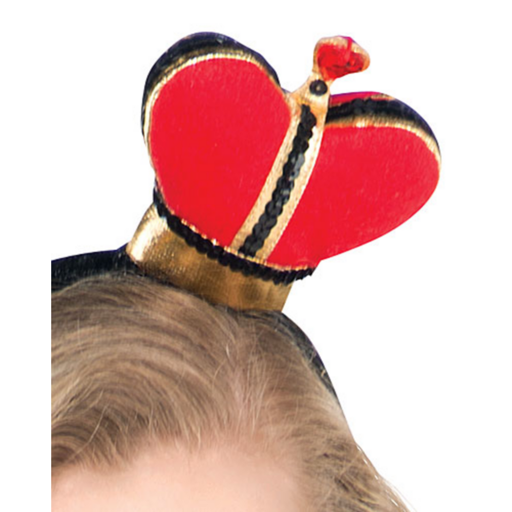 Teen Girls Sassy Queen of Hearts Costume Image #2