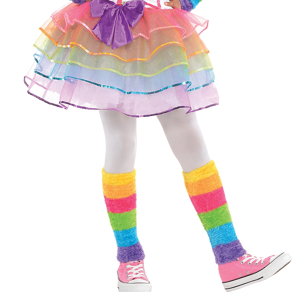 Girls Rainbow Unicorn Costume Image #4