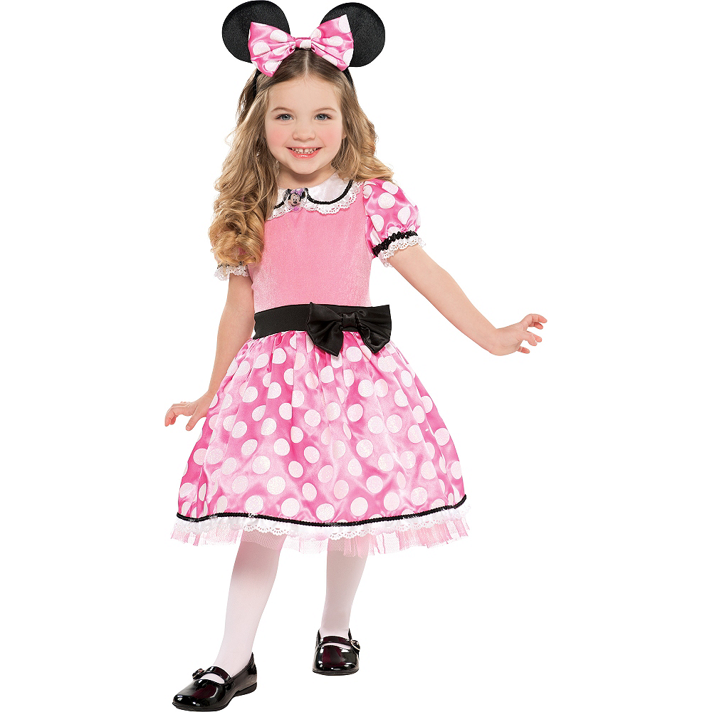 Girls Minnie Mouse Deluxe Image #1
