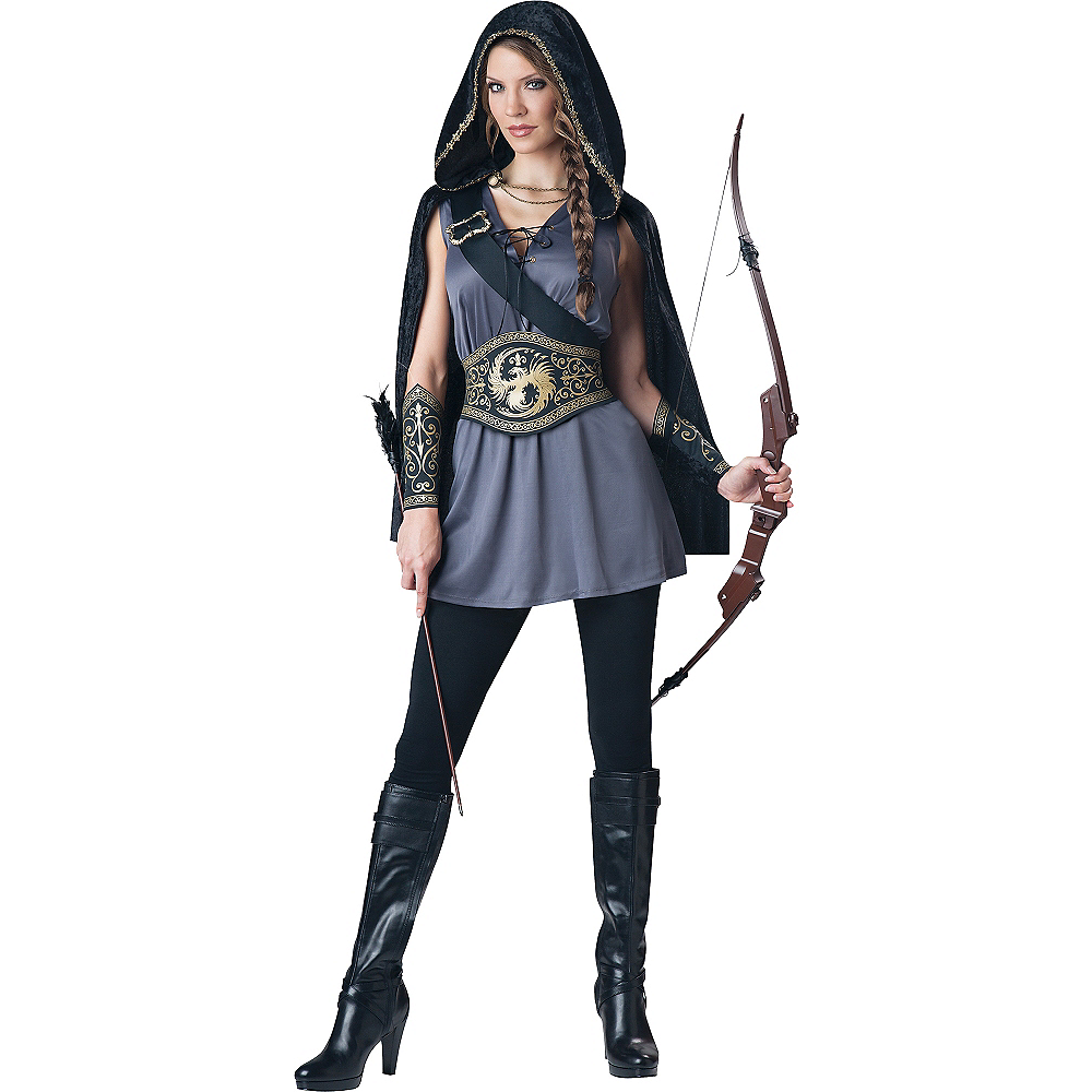 Adult Huntress Costume Image #1