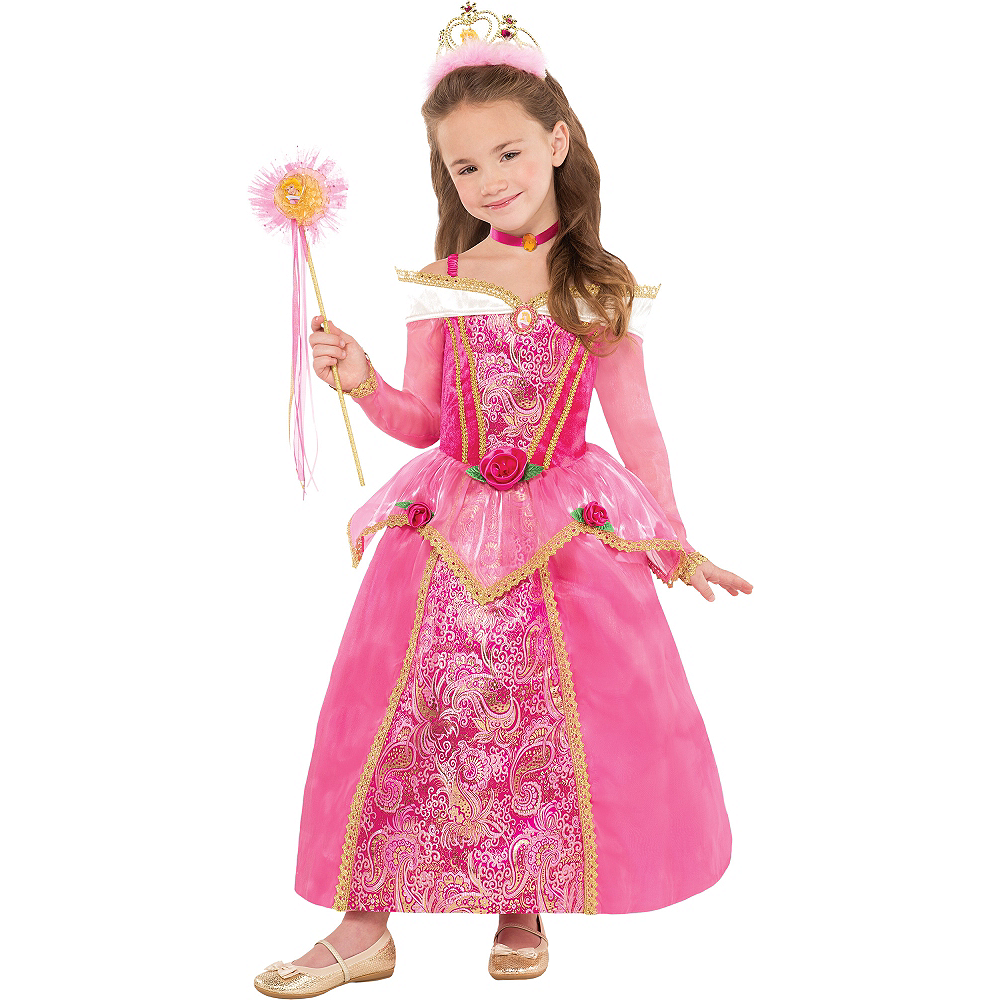 Girls Sleeping Beauty Costume Supreme Image #1