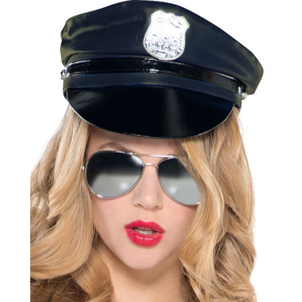 Adult Stop Traffic Sexy Cop Costume Image #2