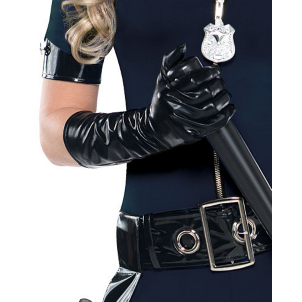 Adult Stop Traffic Sexy Cop Costume Image #3