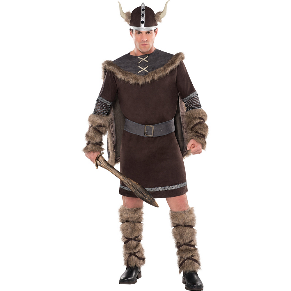 Nav Item for Adult Viking Warrior Costume Image #1