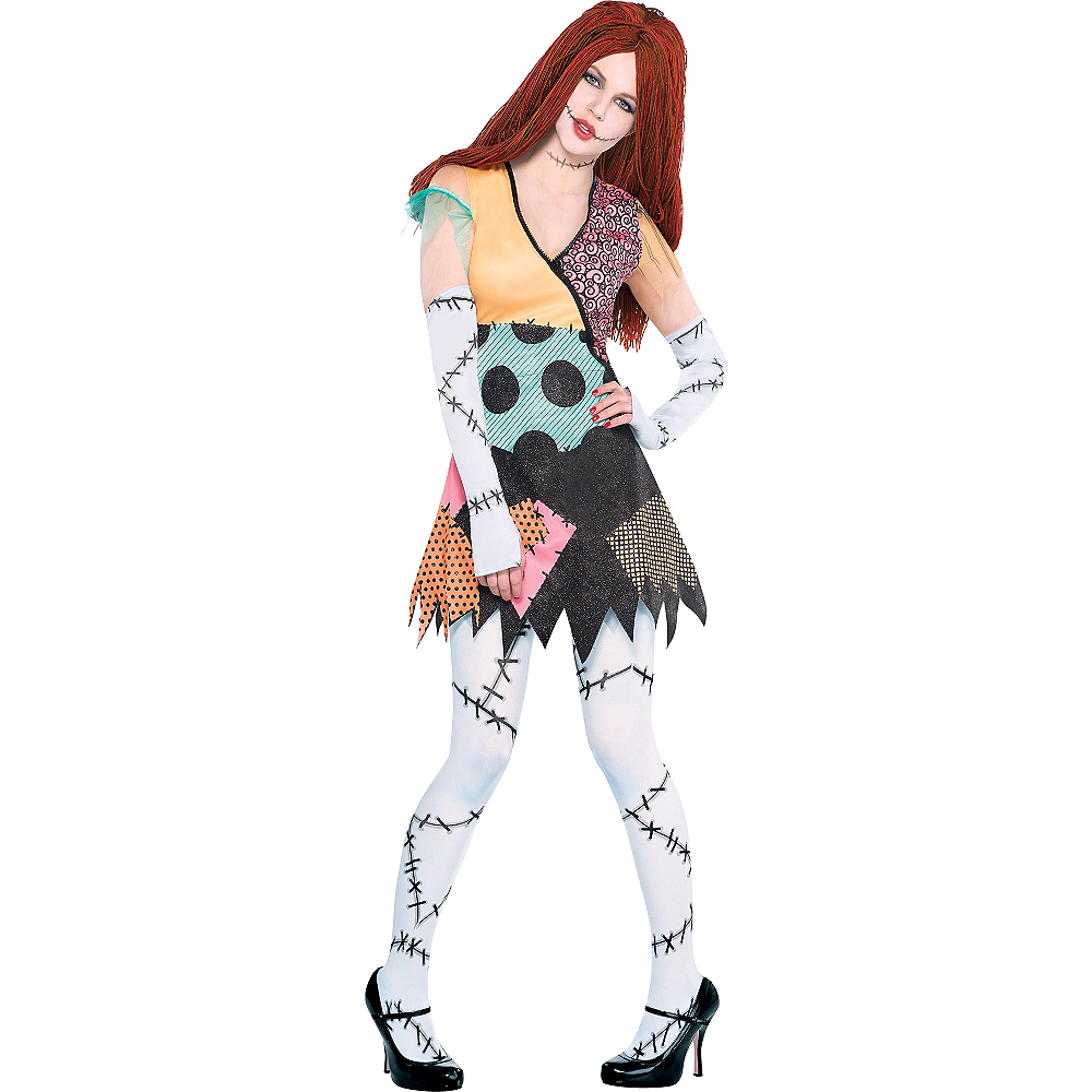 Adult Sally Costume - The Nightmare Before Christmas | Party City Canada