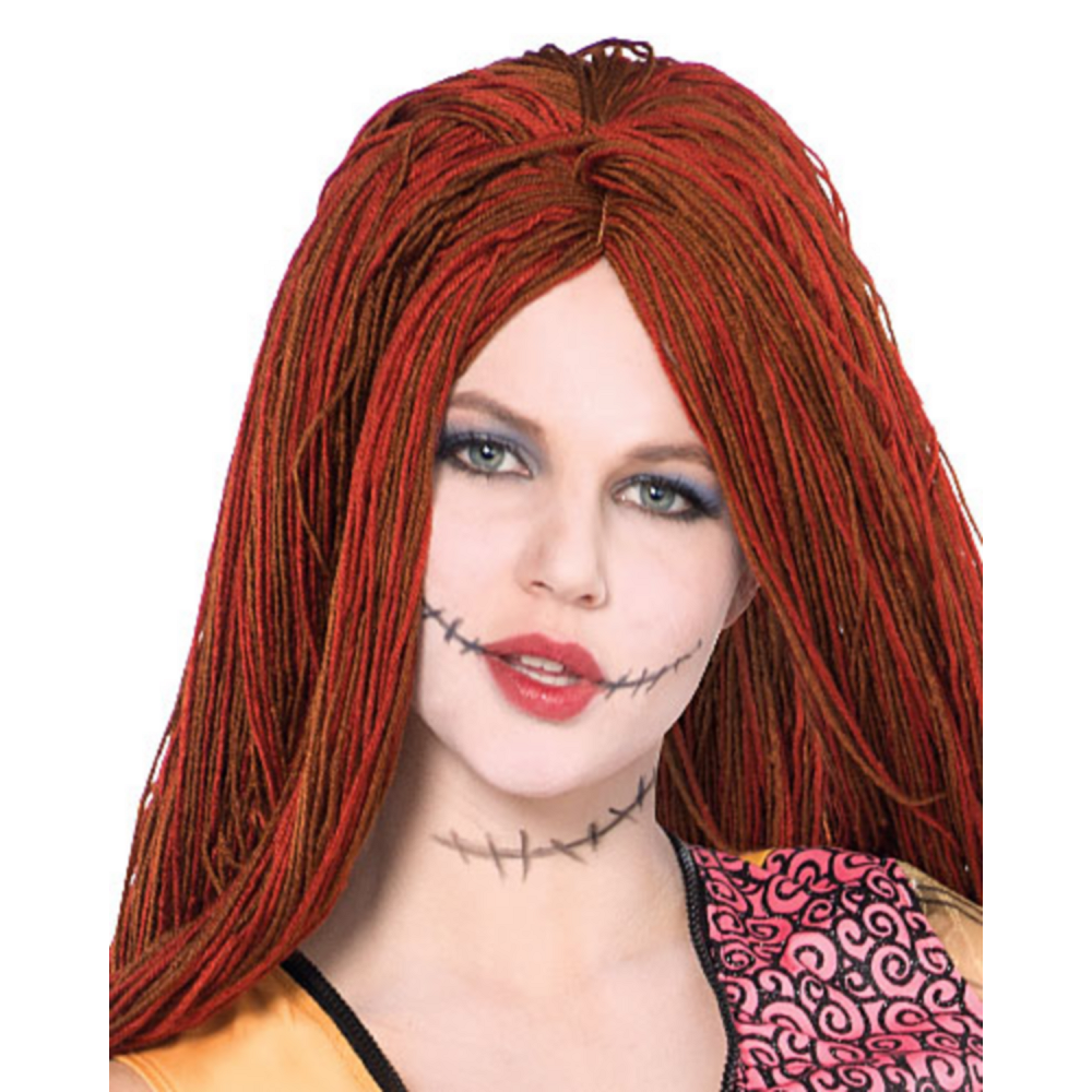 adult sally costume the nightmare before christmas image 2 - Sally Nightmare Before Christmas Wig