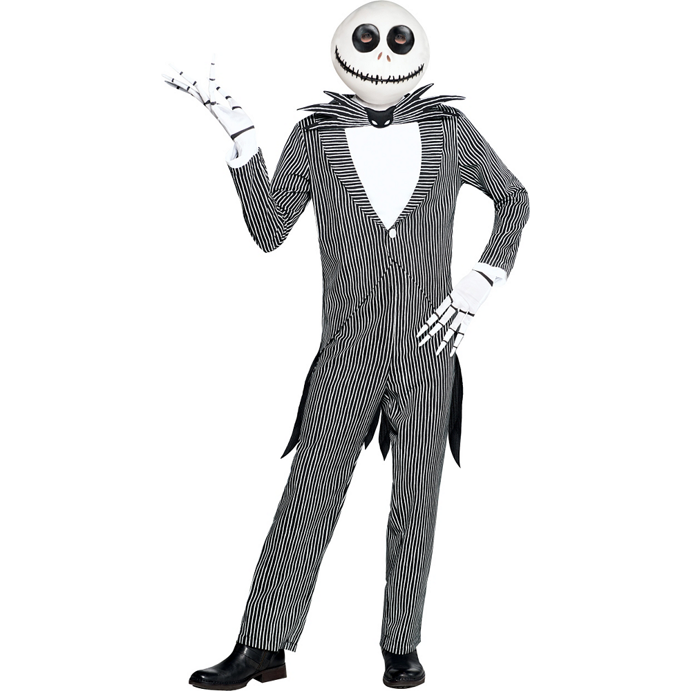 Adult Pinstripe Jack Skellington Costume