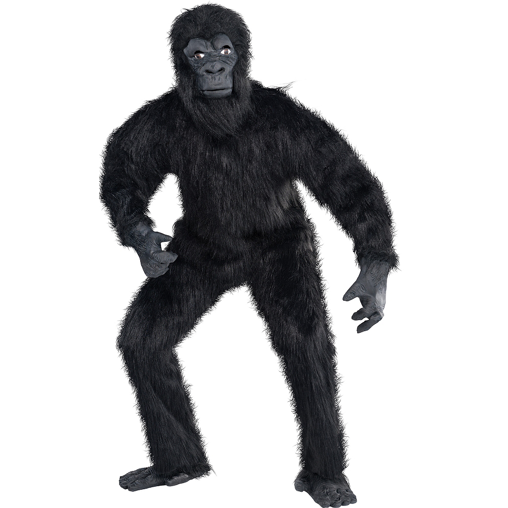 Nav Item for Adult Gorilla Guy Costume Image #1