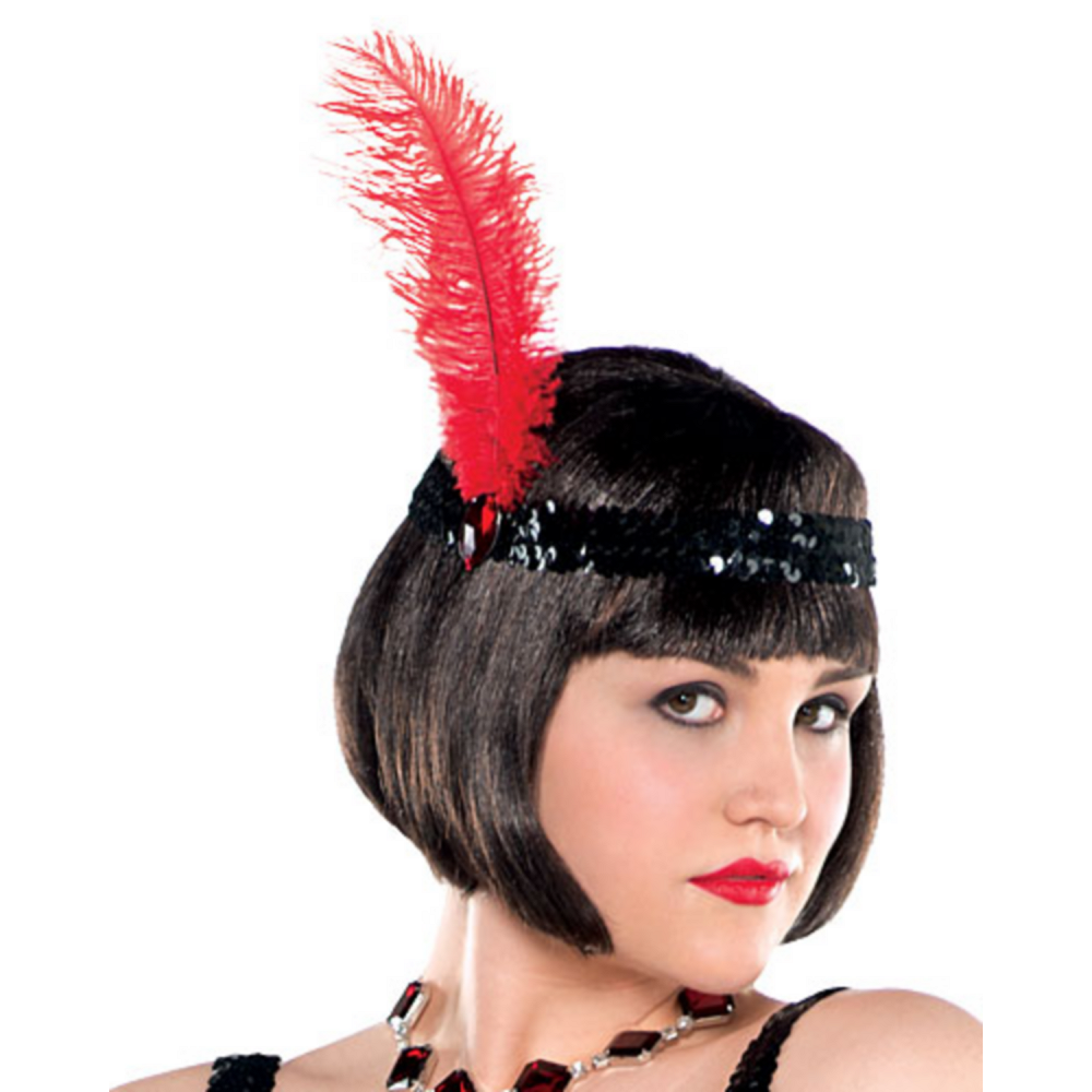 Adult Flashy Flapper Costume Plus Size Image #2
