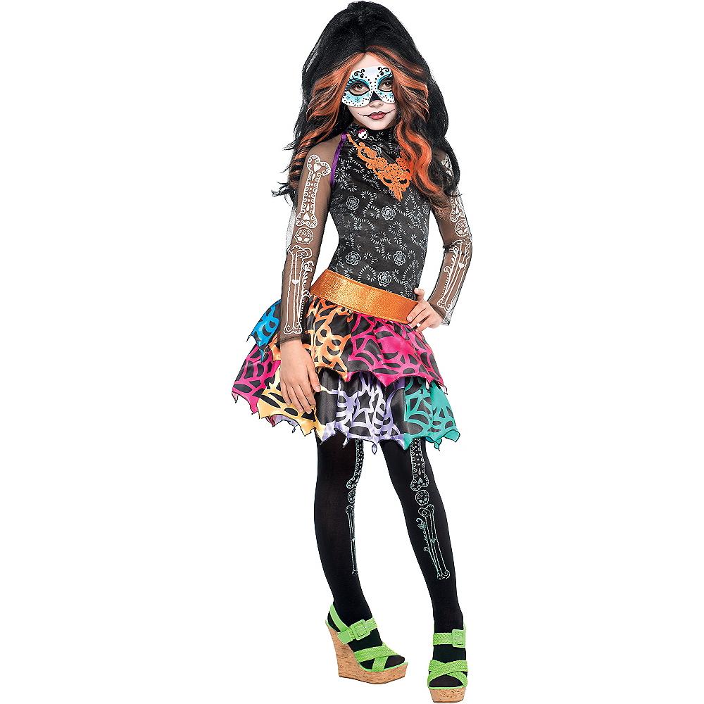 Girls Skelita Calaveras Costume Deluxe - Monster High Image #1
