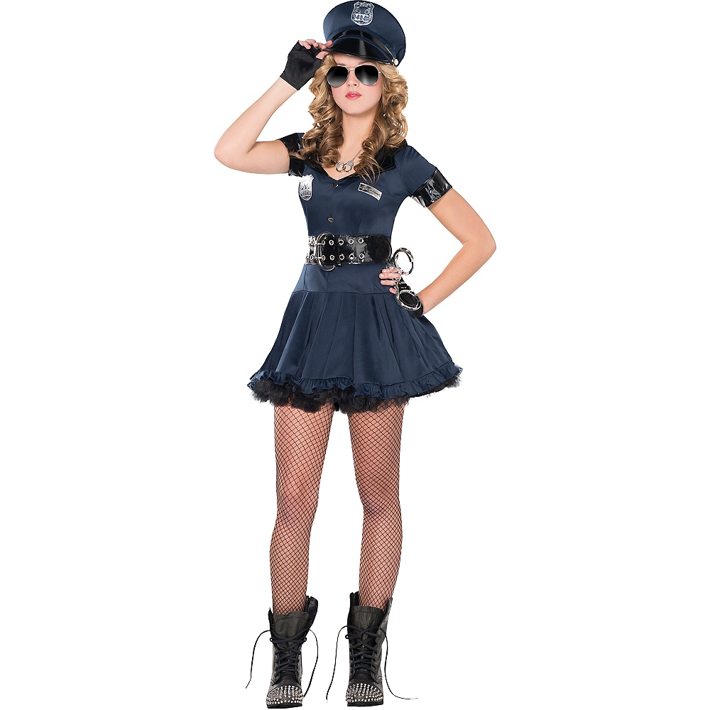 Adult Locked N Loaded Cop Costume Image #1