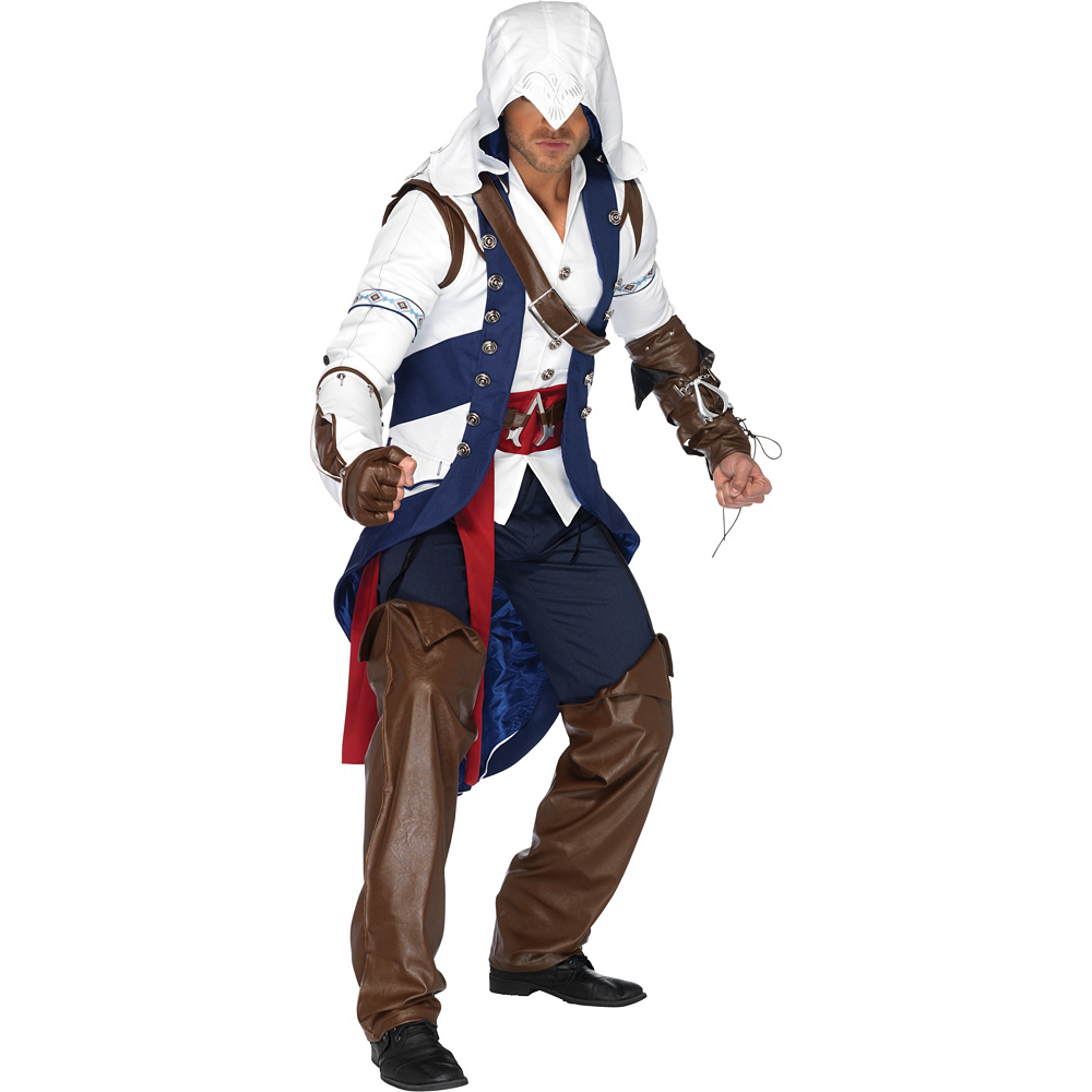 Adult Assassin S Creed Connor Costume Party City