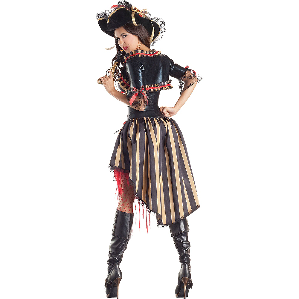 Adult Pirate Body Shaper Costume Image #2