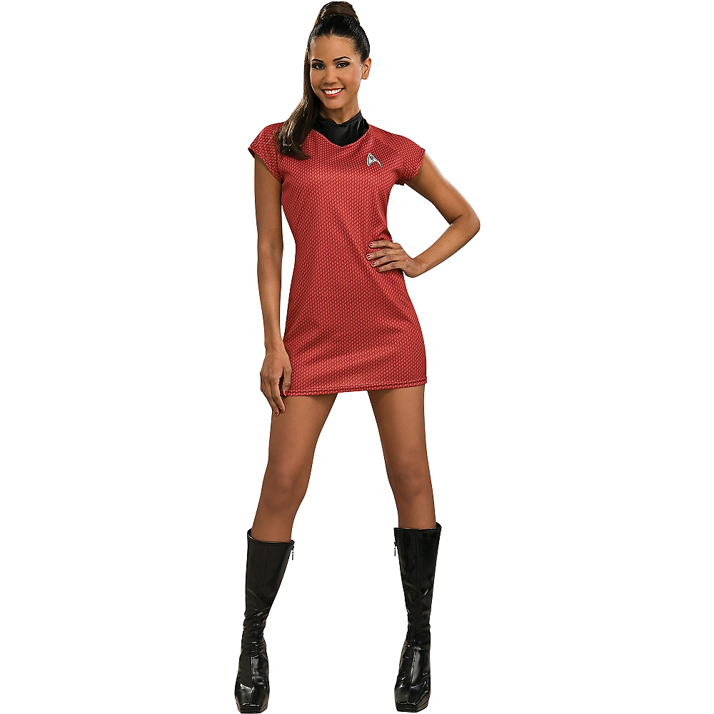 Adult Uhura Costume Deluxe - Star Trek 2 Image #1