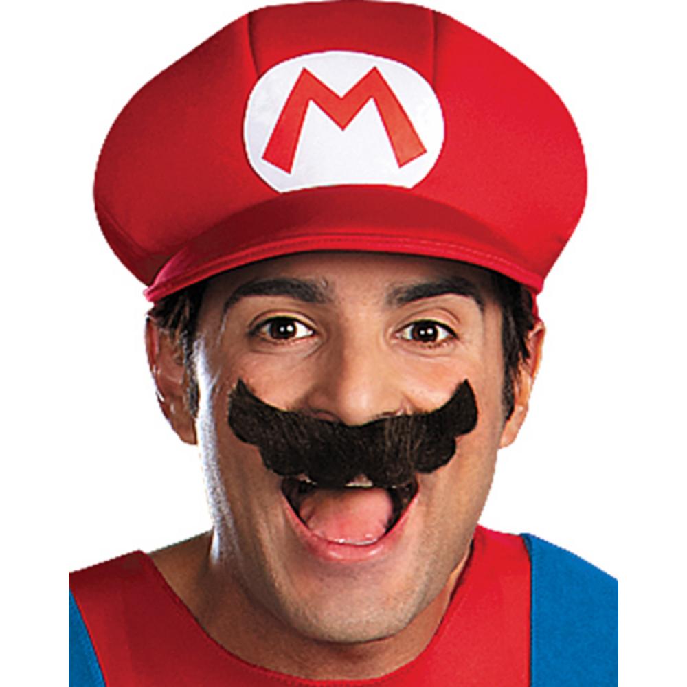Adult Mario Costume Plus Size Premium - Super Mario Brothers Image #2
