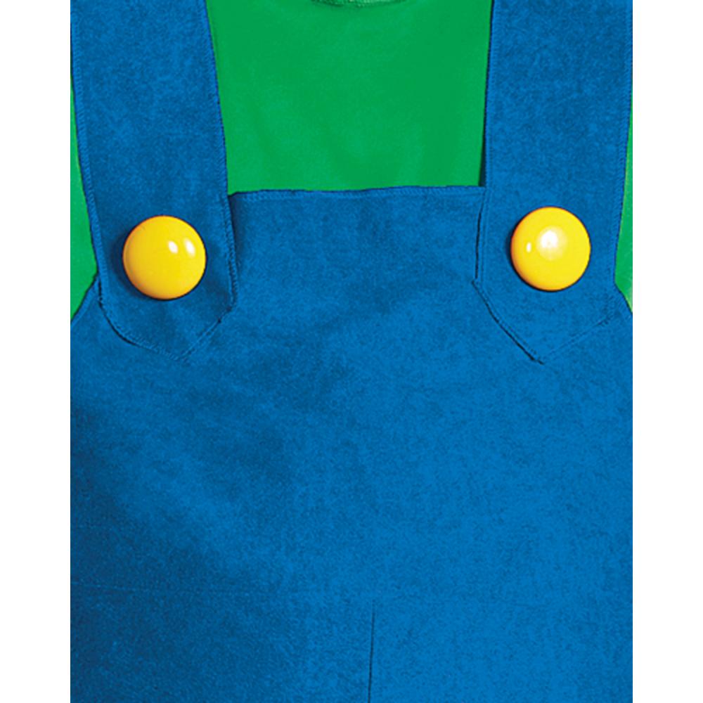 Adult Luigi Costume Premium - Super Mario Brothers Image #3