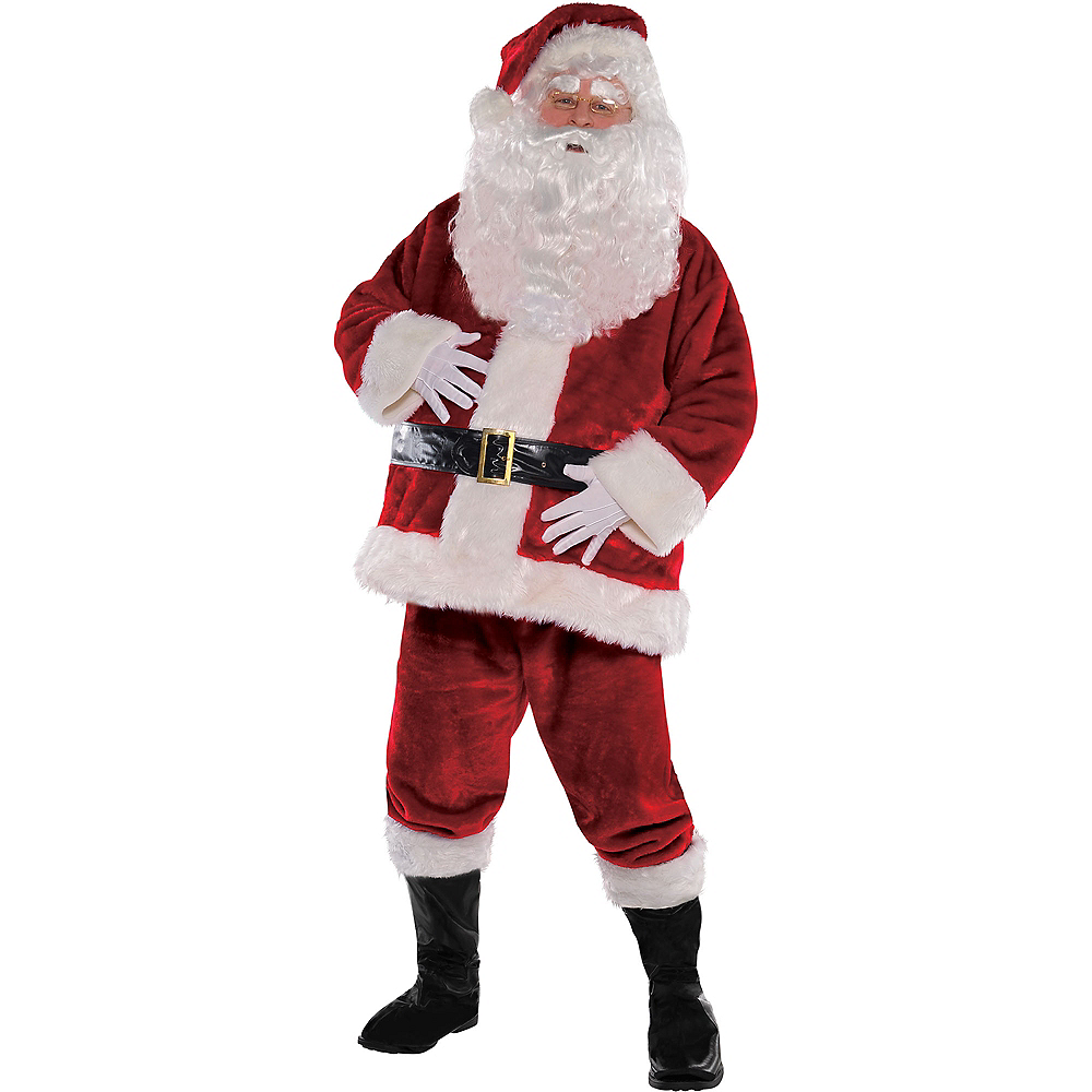 Adult Royal Santa Suit Image #1