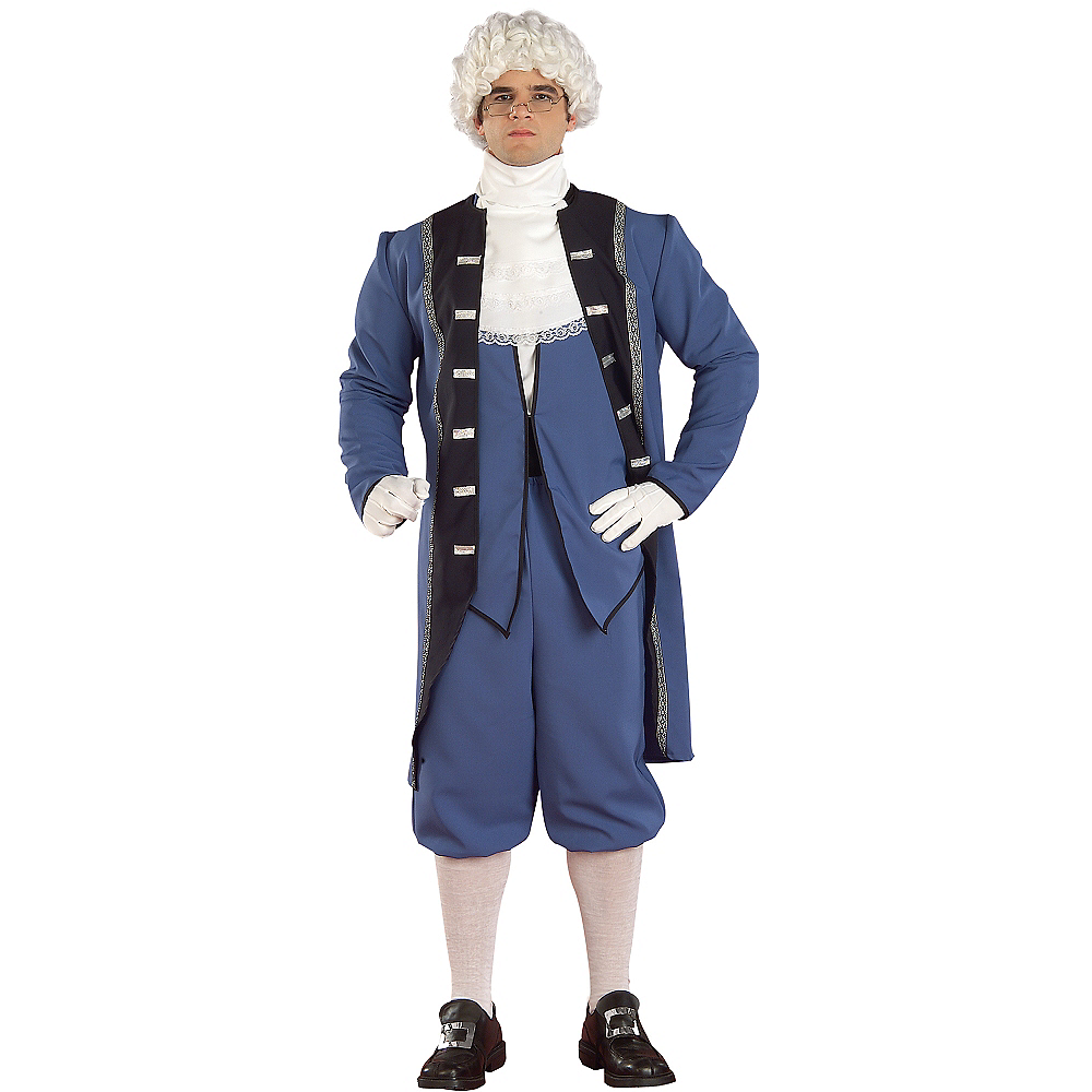 Adult Colonial Man Costume Image #1