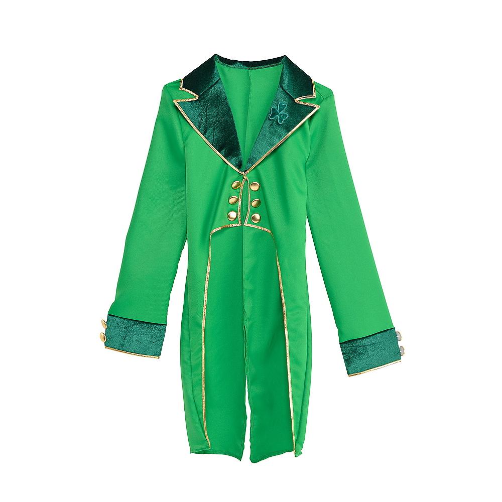Adult Green Leprechaun Tailcoat Image #1