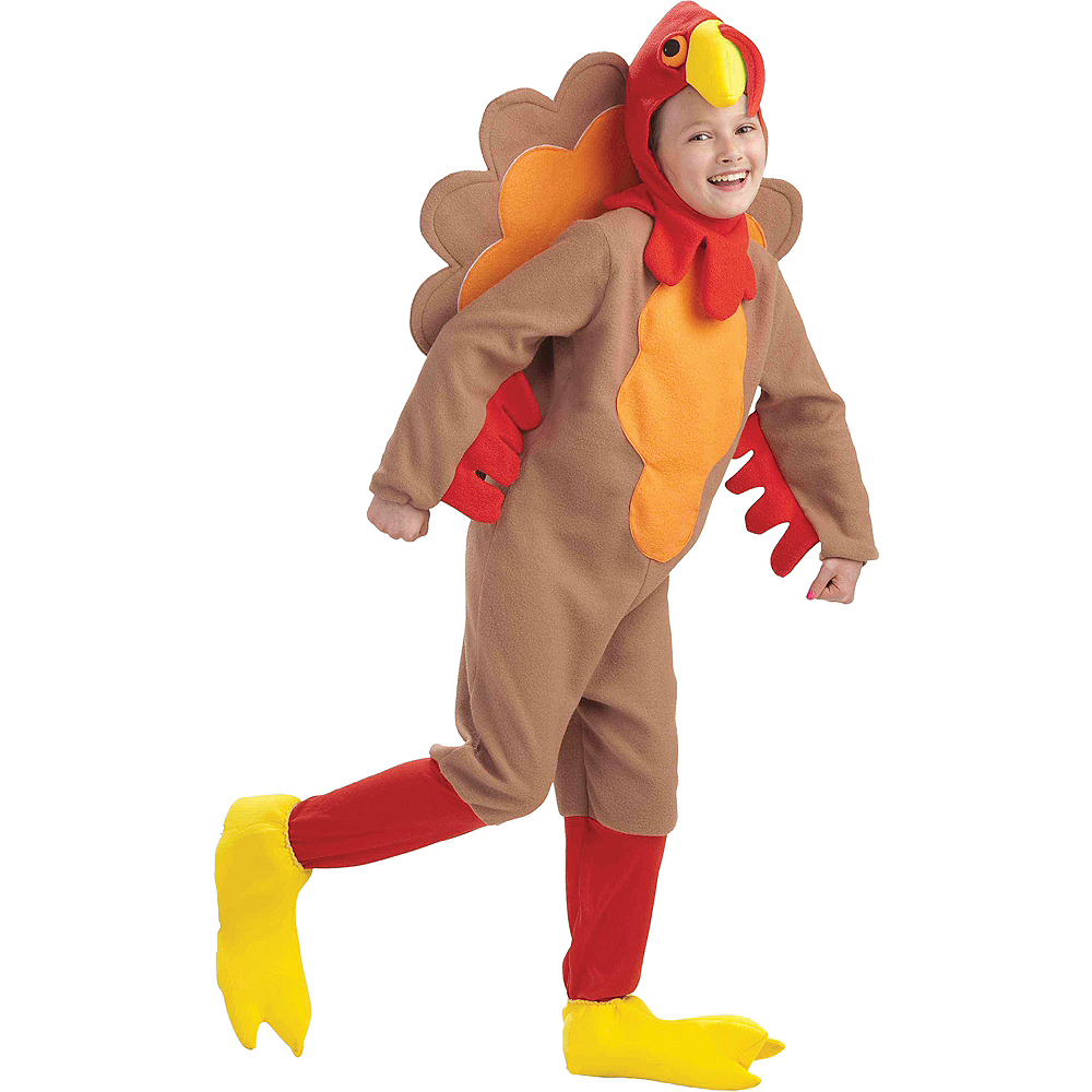 Child Gobble Turkey Costume Image #1