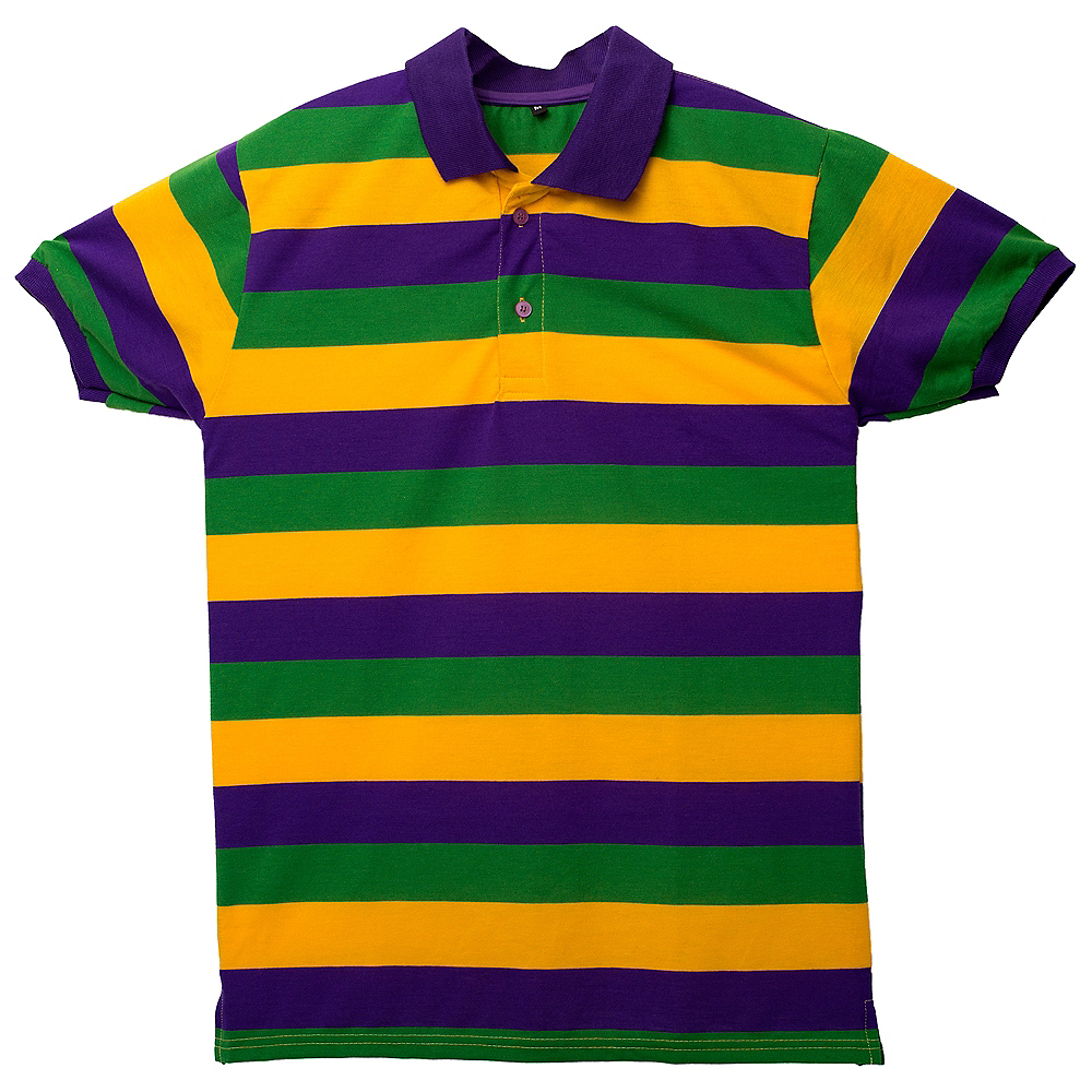Mardi Gras Rugby Shirt Image #1
