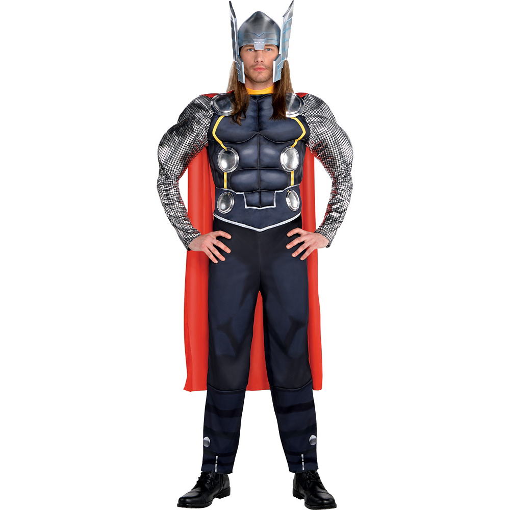 Nav Item for Adult Thor Muscle Costume Deluxe Image #1