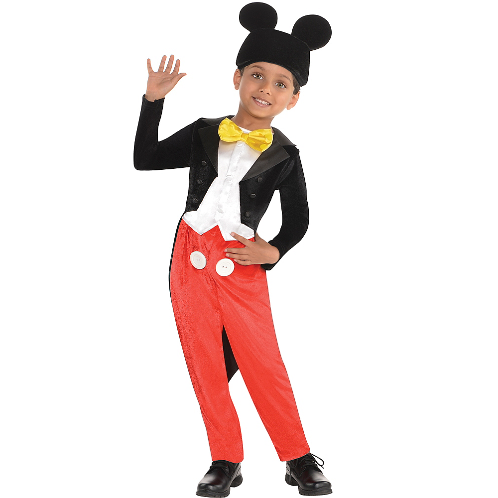 Nav Item for Boys Mickey Mouse Costume Classic Image #1
