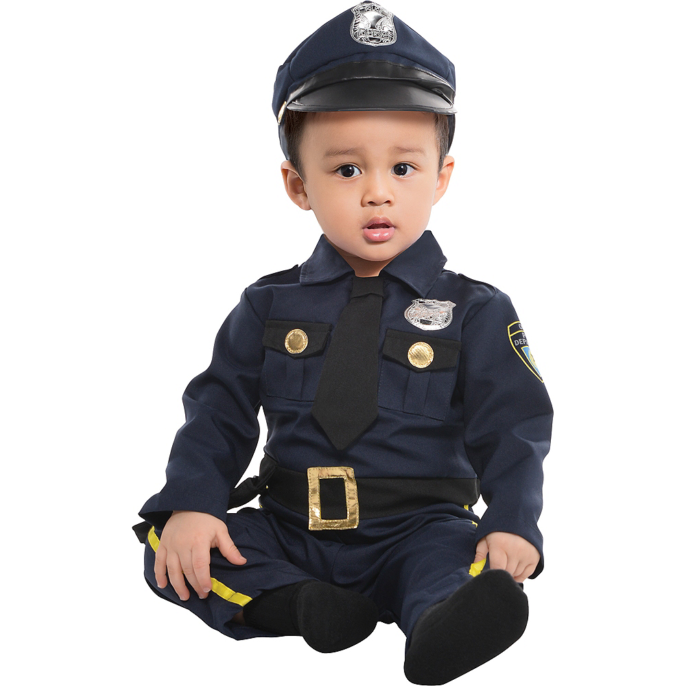 Nav Item for Baby Cop Costume Image #1