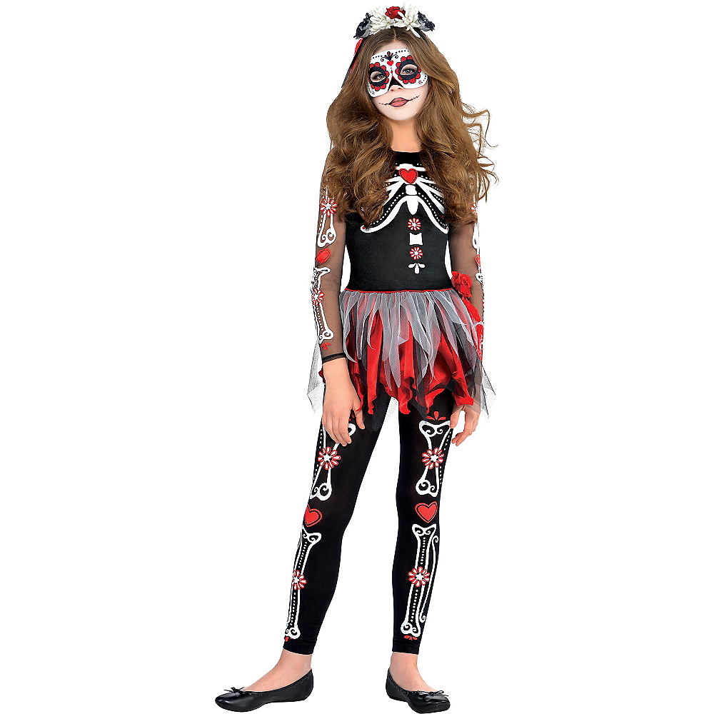 Girls Scared to the Bone Costume Image #1