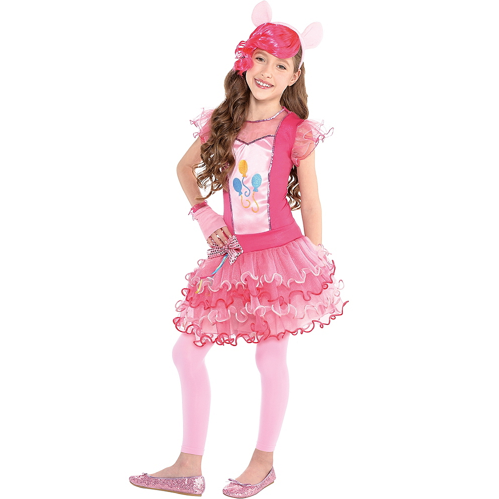 Nav Item for Girls Pinkie Pie Costume - My Little Pony Image #1