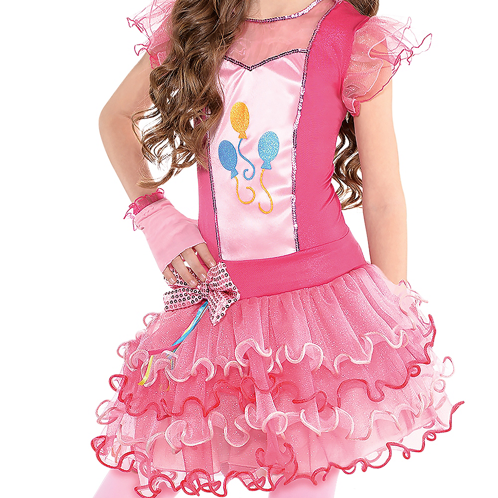 Nav Item for Girls Pinkie Pie Costume - My Little Pony Image #3