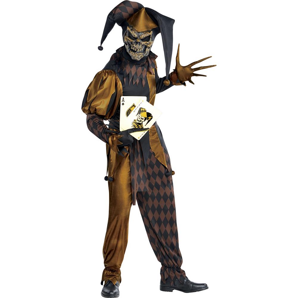 Adult Joker's Wild Skeleton Costume Image #1