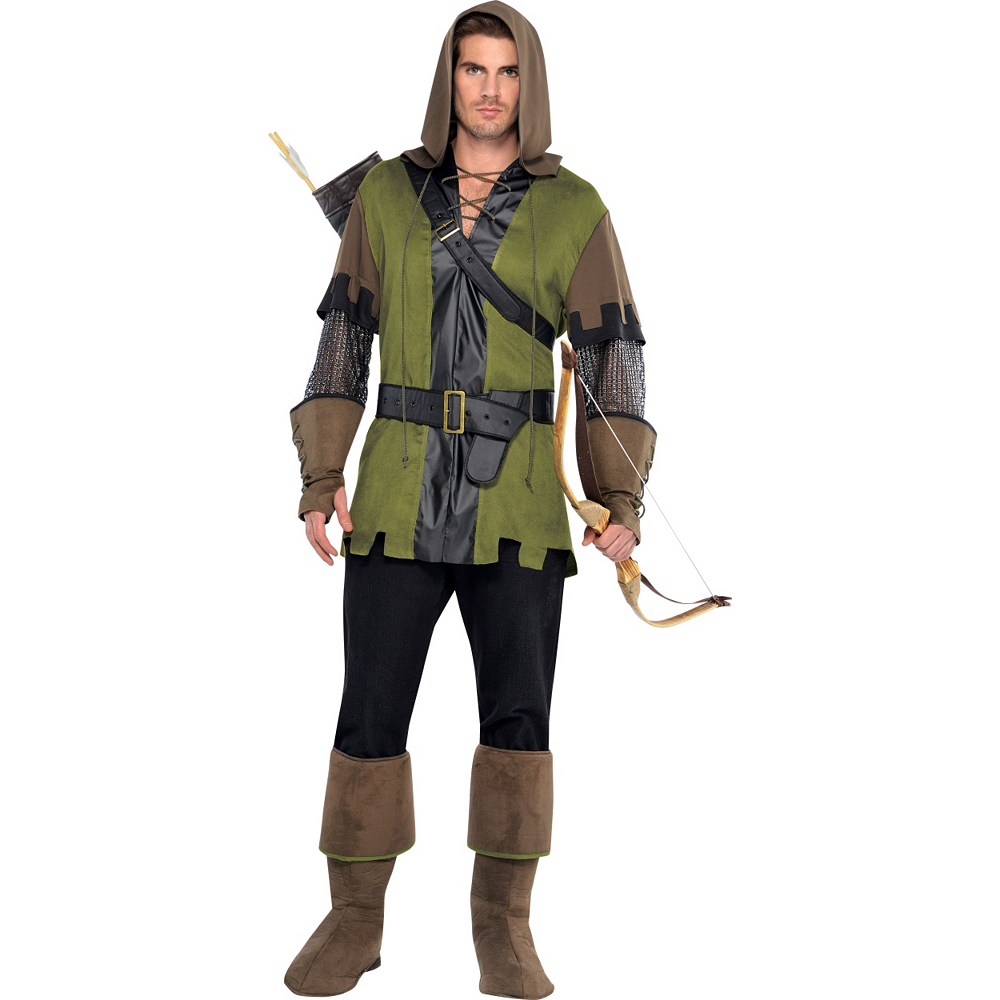 Robin Hood Costume Adult - Prince of Thieves Image #1