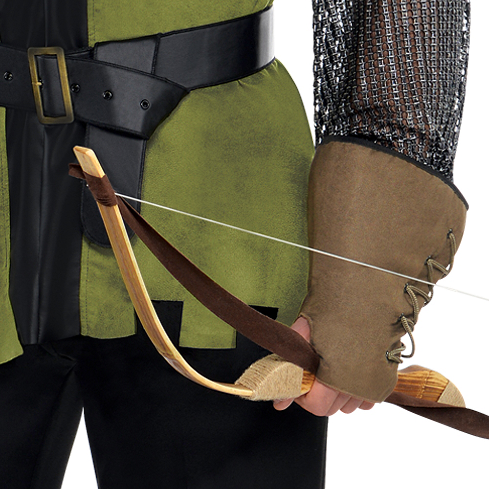 Adult Prince of Thieves Robin Hood Costume Plus Size Image #4