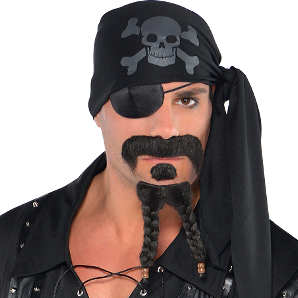 Adult Dark Sea Scoundrel Pirate Costume Image #2